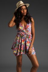 Rachel Pally Tie Shoulder Playsuit