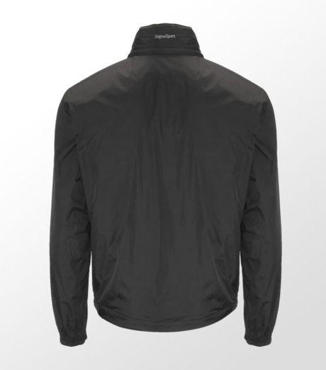 Zegna Sport Light Shell Pack Away Jacket In Blue For Men