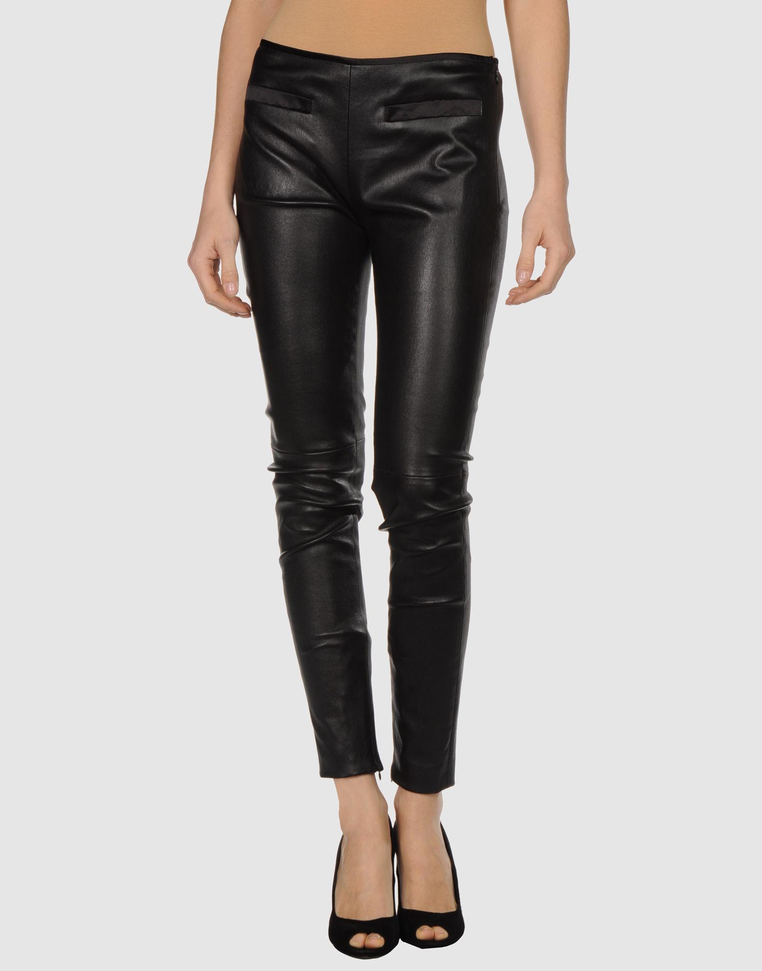 prada leather pants