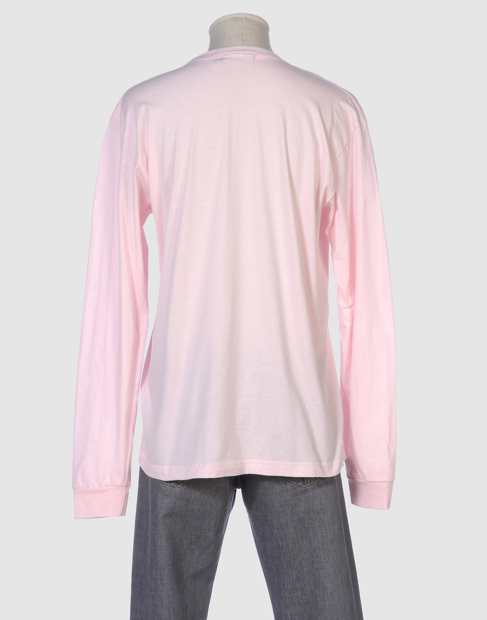 Libertine long sleeve t shirt in pink for men lyst for Mens pink long sleeve shirt