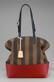 Fendi Striped 2bag - Lyst