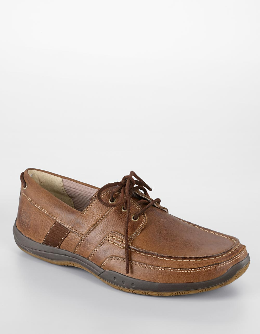 timberland earthkeepers leather boat shoes in brown for
