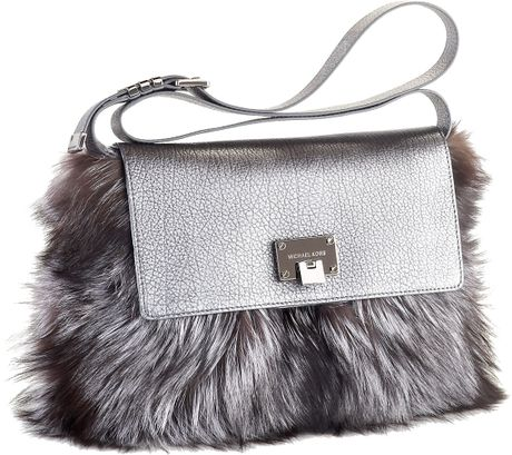 Michael Kors Fur Shoulder Bag 11