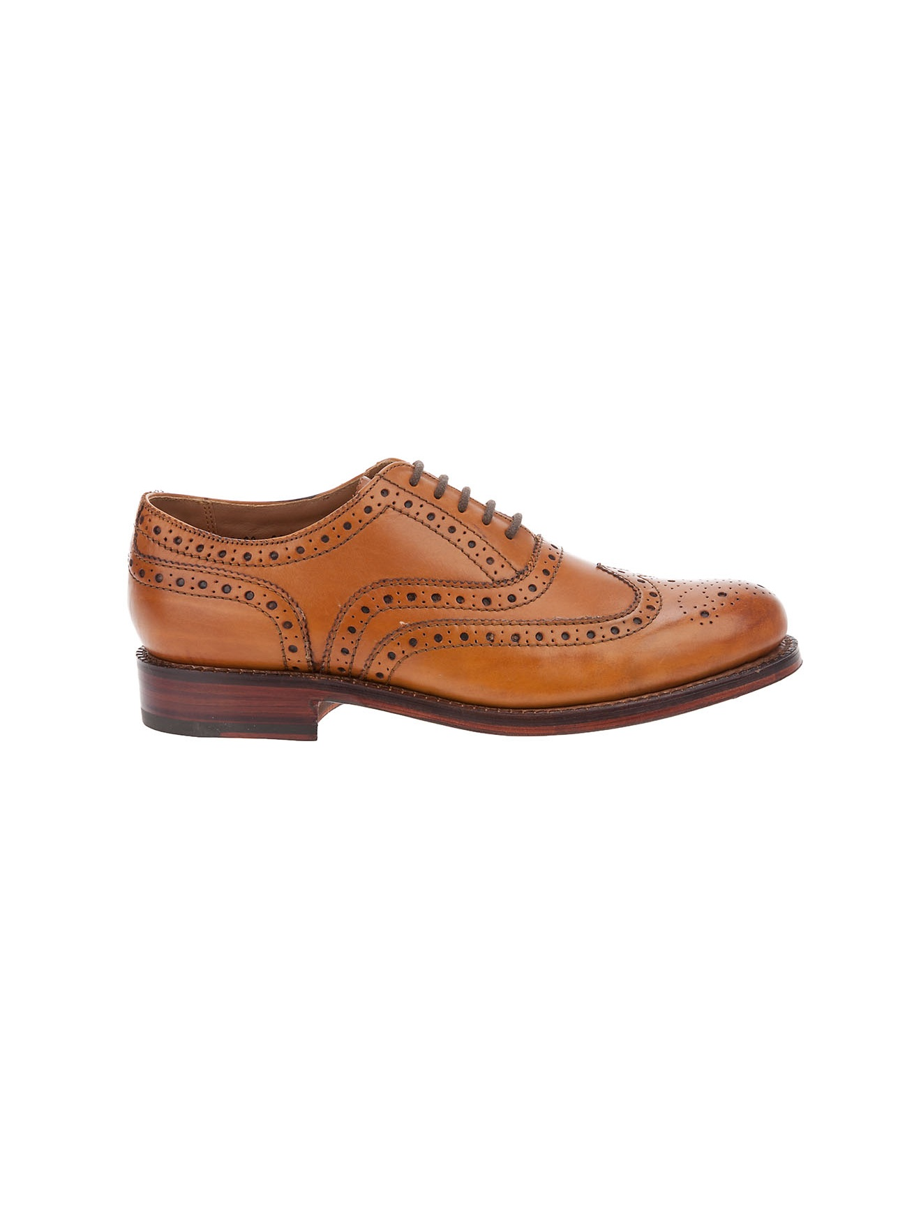 Grenson Brogue Shoe In Brown For Men Tan Lyst