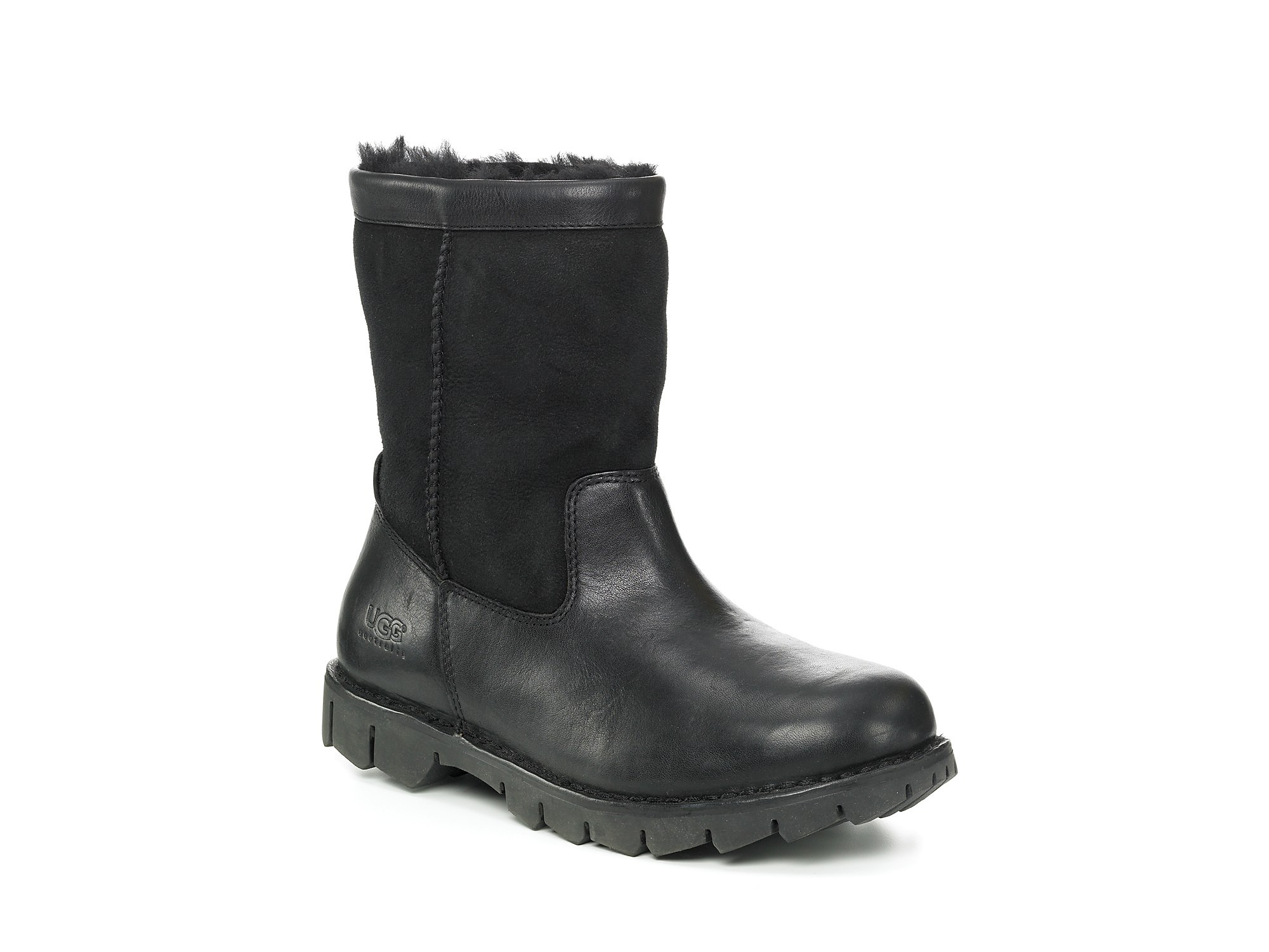 ugg mens beacon boots in black for after lyst