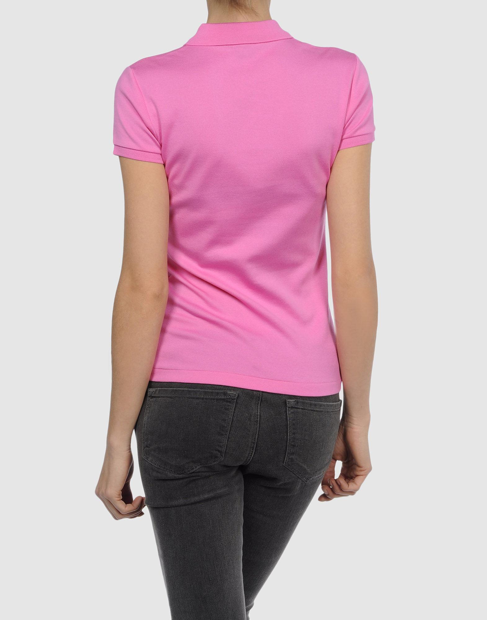 Ralph lauren black label polo shirt in pink lyst for Ralph lauren black label polo shirt