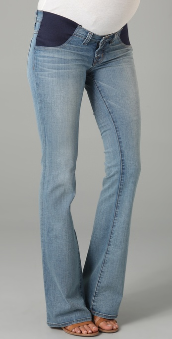 J brand Mama J Bailey Boot Cut Maternity Jeans in Blue | Lyst