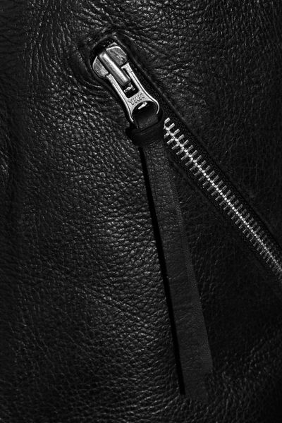 Black Leather Jacket Texture