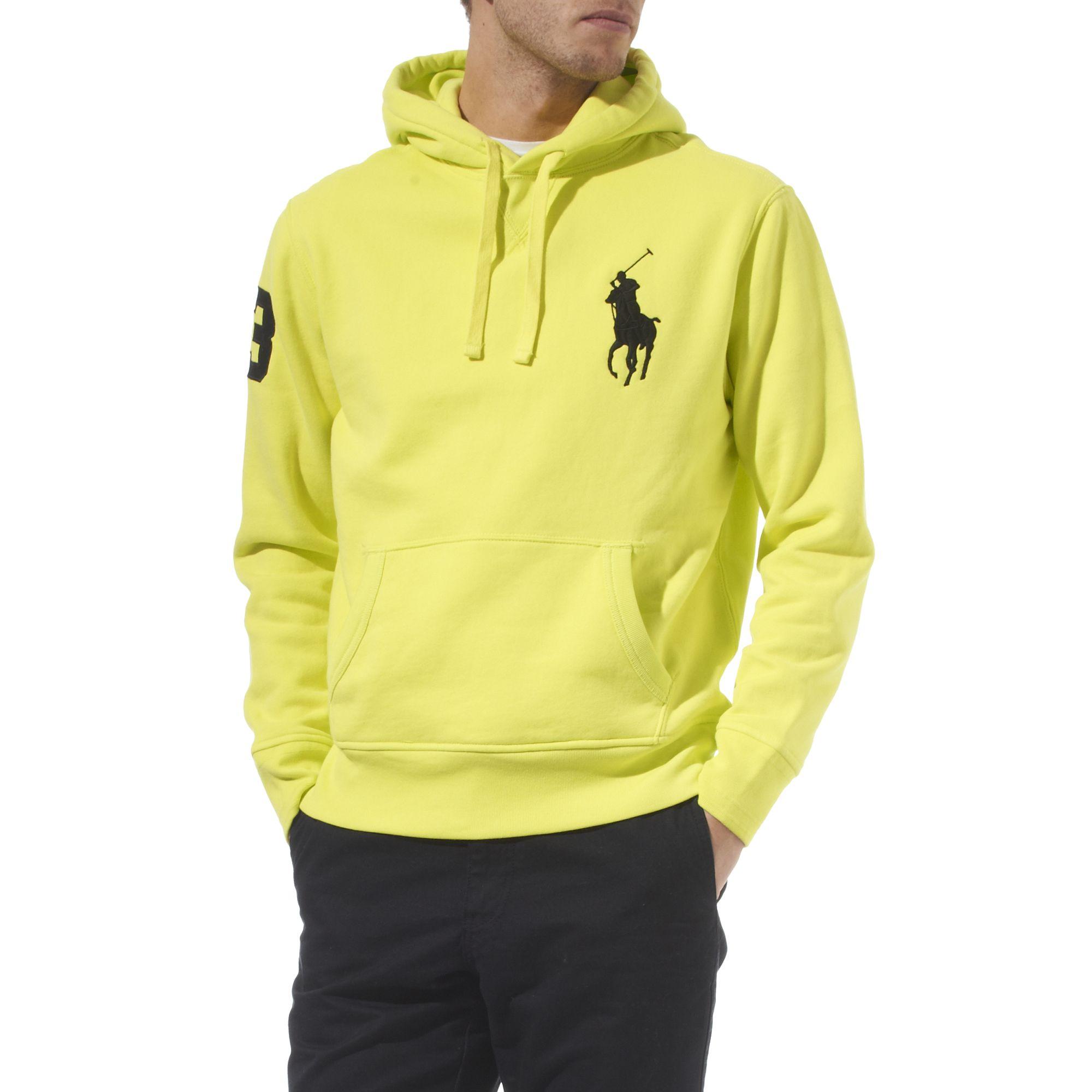 Ralph lauren Neon Big Pony Hoody in Yellow for Men | Lyst \u0026middot; Ralph Lauren Women Berlin Black ...