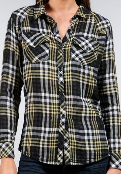 Find yellow plaid shirt at ShopStyle. Shop the latest collection of yellow plaid shirt from the most popular stores - all in one place.