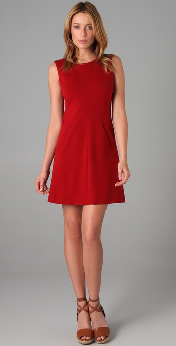 Dvf Red Dress View Fullscreen