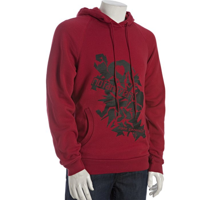 marc by marc jacobs chili pepper graphic cotton pullover hoodie in red for men chili lyst. Black Bedroom Furniture Sets. Home Design Ideas