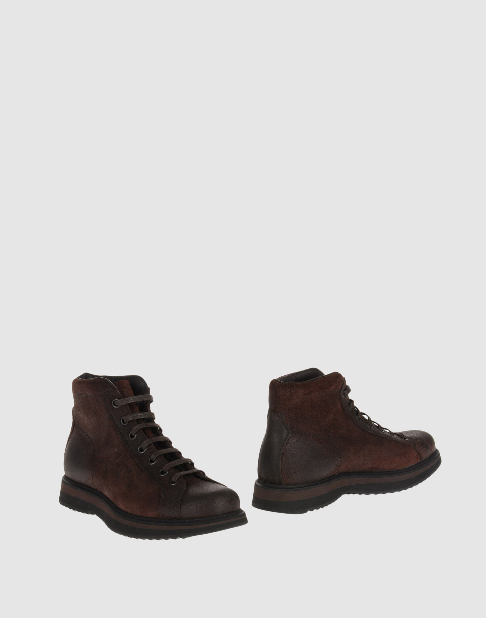 car shoe ankle boots in brown for lyst