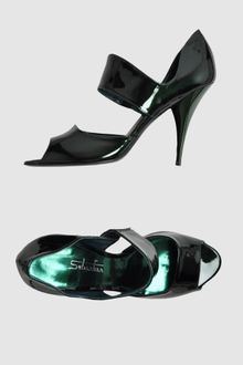 Sebastian Pumps with Open Toe - Lyst