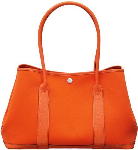 Hermes Garden Shoulder in Orange