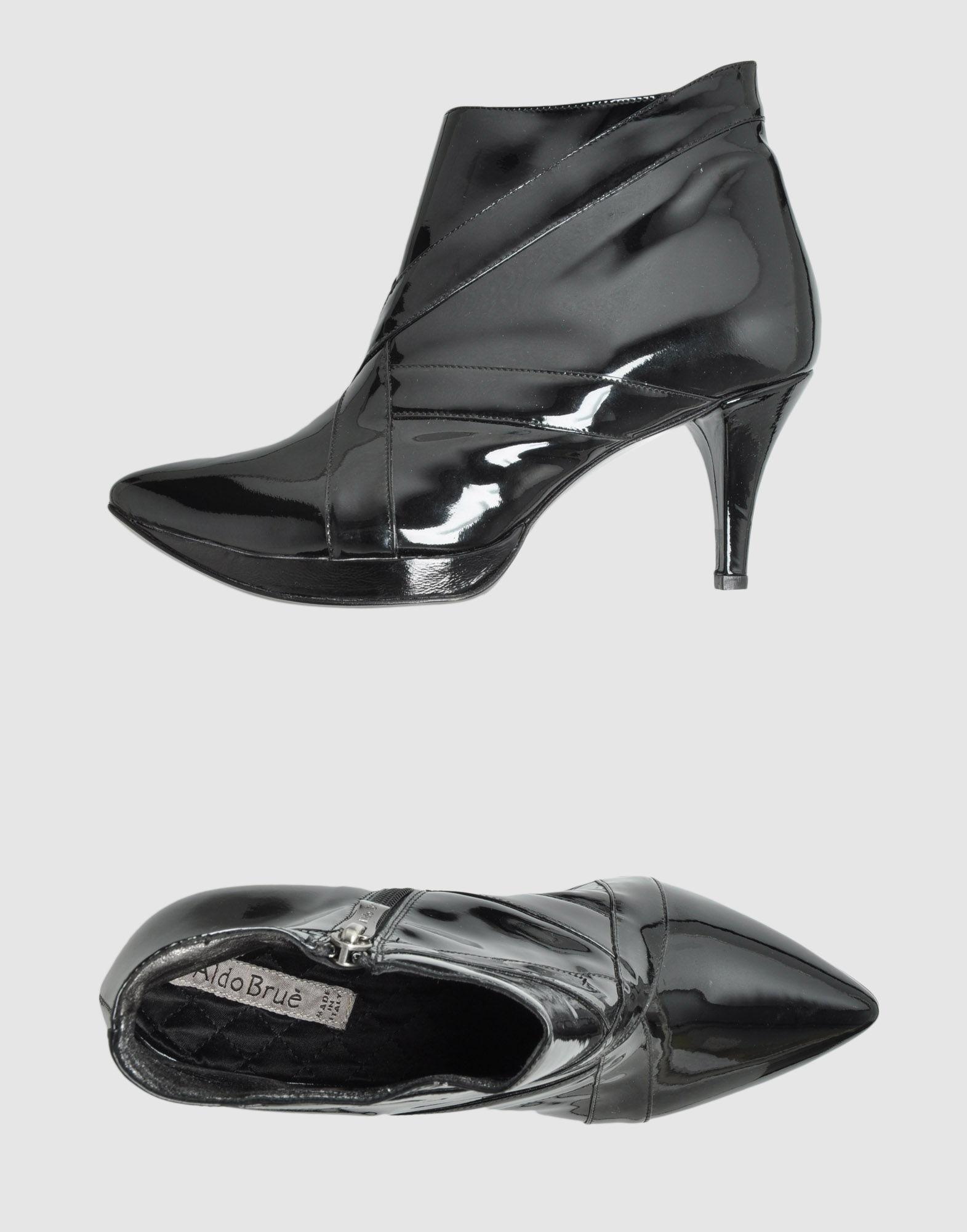 aldo brue shoe boots in black lyst
