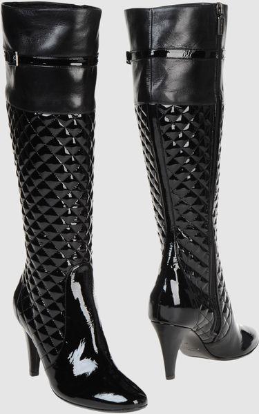 Bruno Magli High-heeled Boots in Black