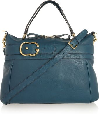 Gucci Ride Textured-leather Tote - Lyst