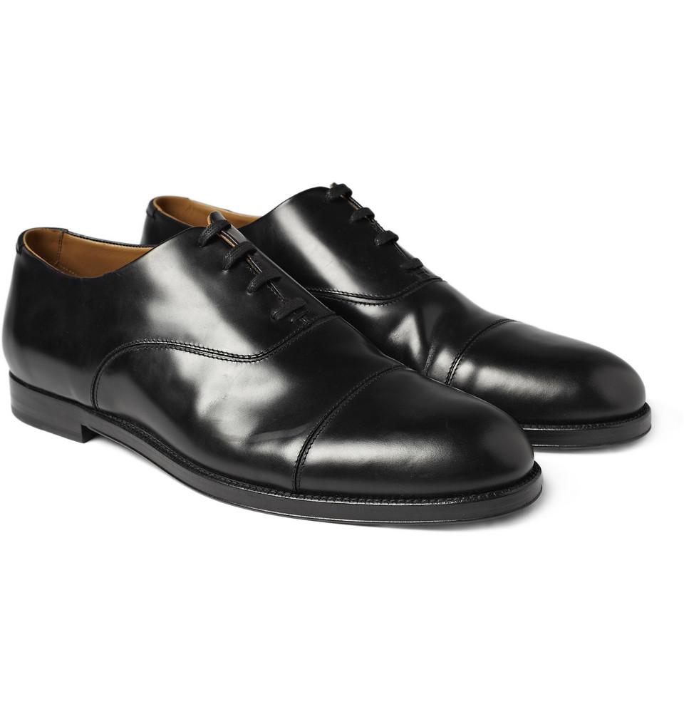 Jimmy Choo Draycott Leather Oxford