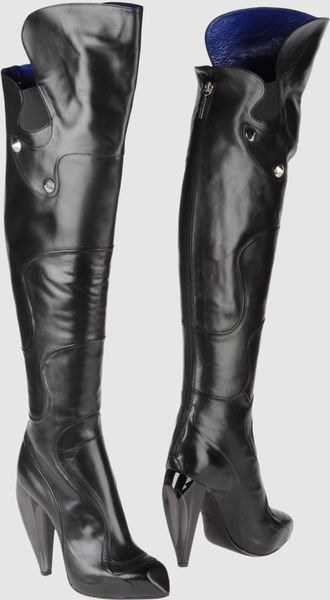 Raphael Young High-heeled Boots in Black