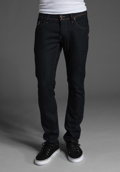star raw defend super slim jeans in blue for men lyst. Black Bedroom Furniture Sets. Home Design Ideas