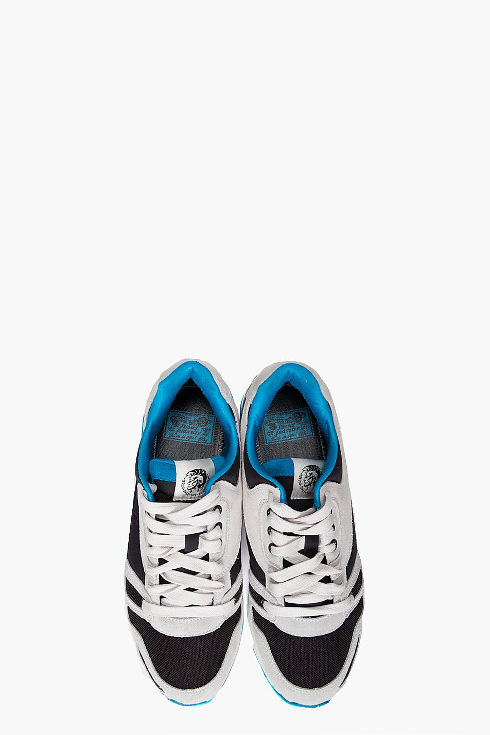 Diesel Absolute Sneakers In Black For Men Lyst