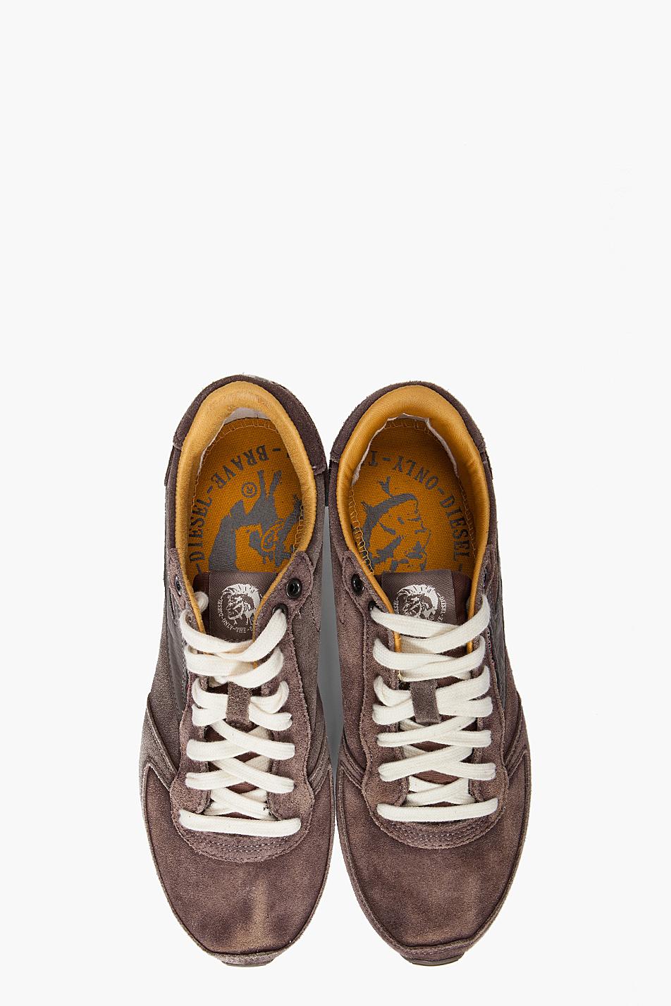 Diesel Pass On Sneakers In Grey Gray For Men Lyst