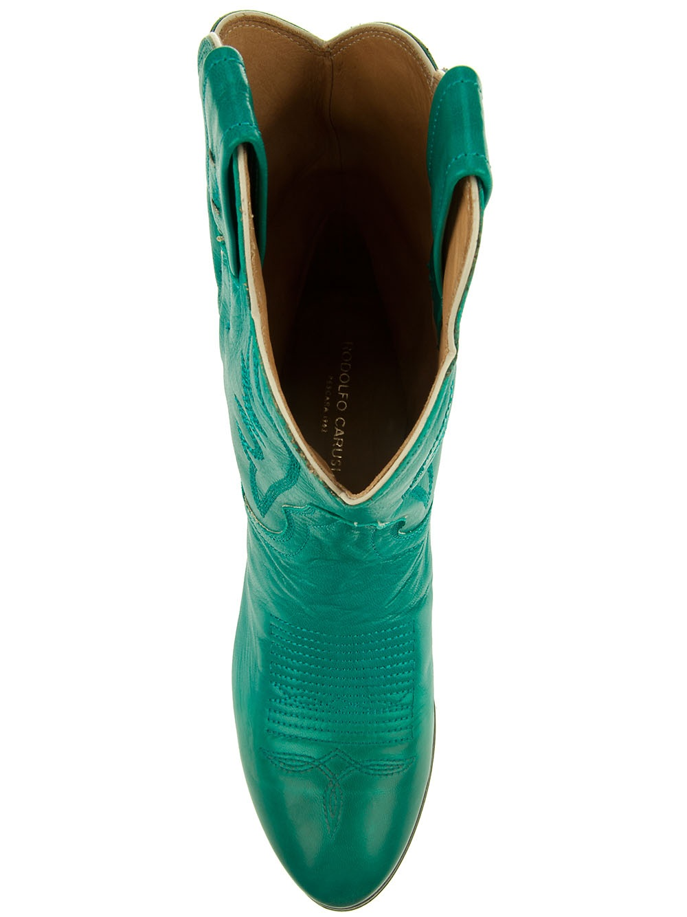 Rodolfo Carusi Cowboy Boot in Turquoise (Blue)