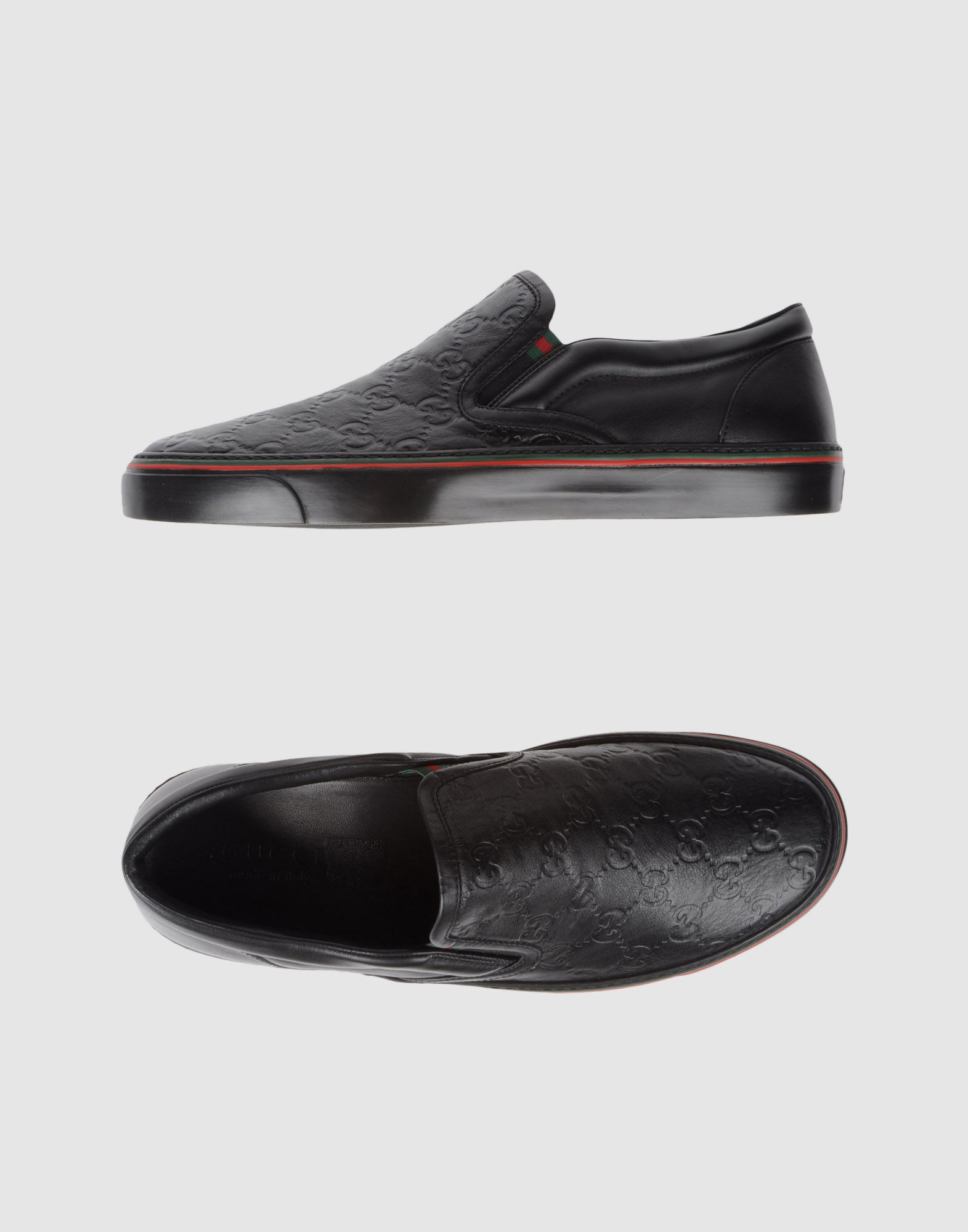 Gucci Slip-on Sneaker in Black for Men | Lyst