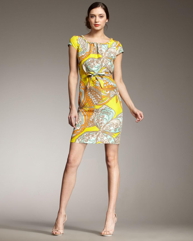 Yellow kate spade dress sale
