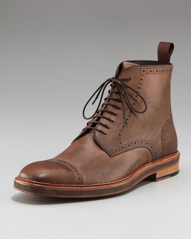 Mens Cap Toe Boots - Cr Boot