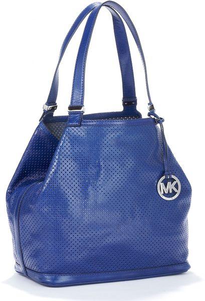 Michael Michael Kors Large Colgate Grab Bag, Cobalt in Blue (cobalt)