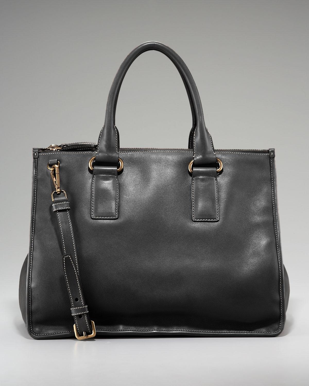 prada messenger bag brown - prada soft calf reversible tote, discount prada handbags online