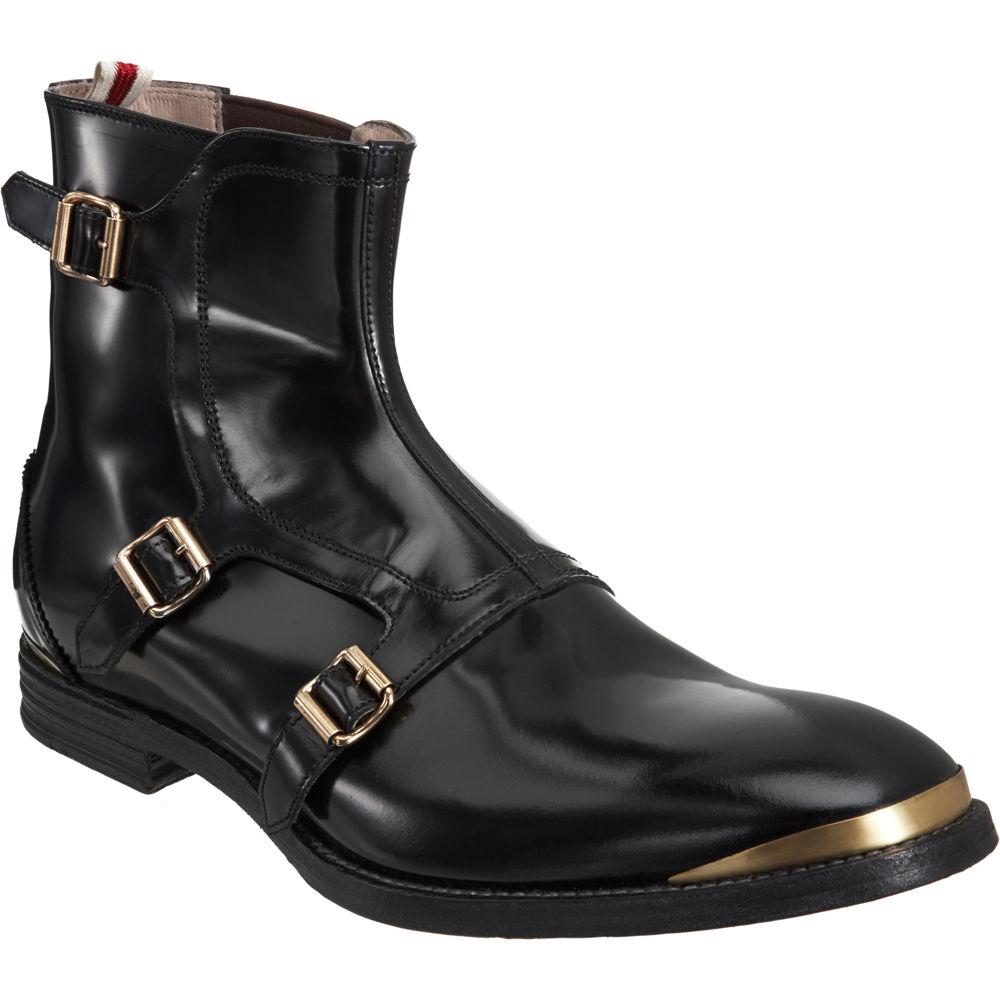 cdc39d459ac0c Alexander McQueen Triple Buckle Boot in Black for Men - Lyst