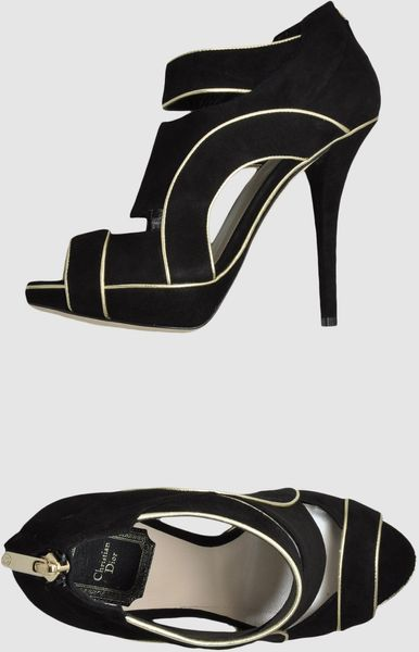 Dior Shoe Boots in Black