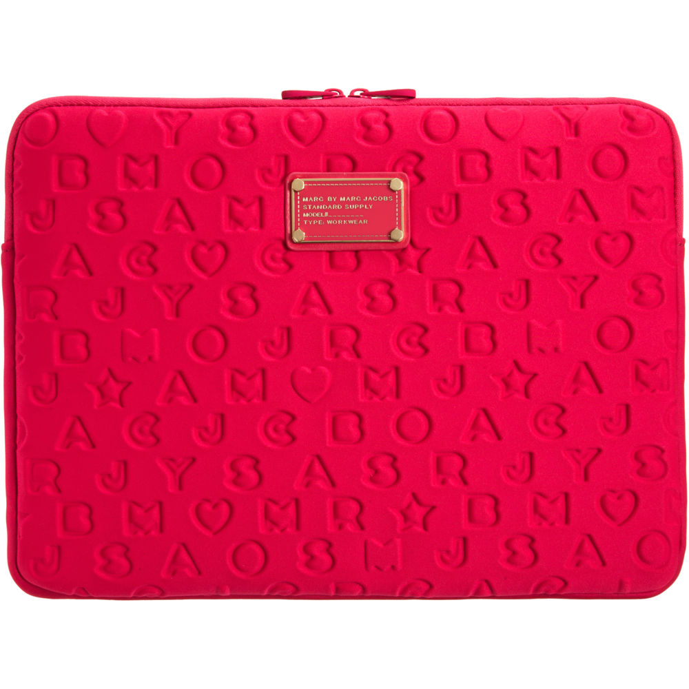 788c7c012f60 Marc By Marc Jacobs 13 Laptop Sleeve in Pink - Lyst