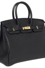 Hermes 35cm Birkin Black Togo With Ghw