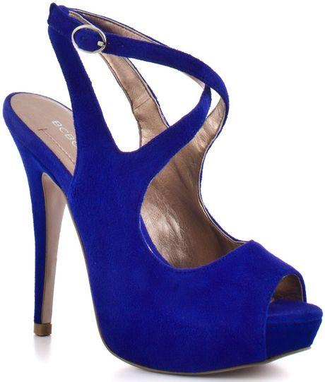 Bcbgmaxazria Ebonee - Cobalt Suede in Blue (cobalt)