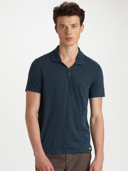 Converse Jersey Polo in Blue for Men (navy) - Lyst