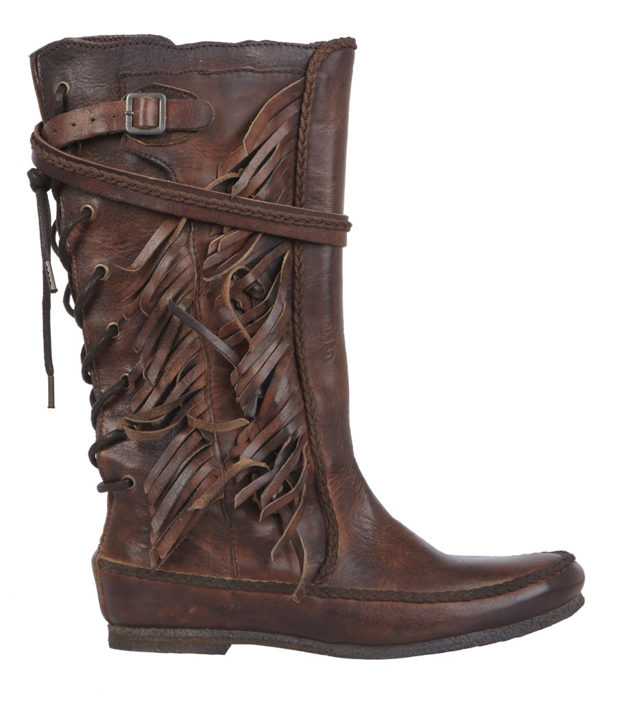 allsaints pipaluk boot in brown sepia lyst