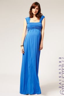 Maternity Dress on Asos Collection Red Asos Maternity Wrap Bust Maxi Dress