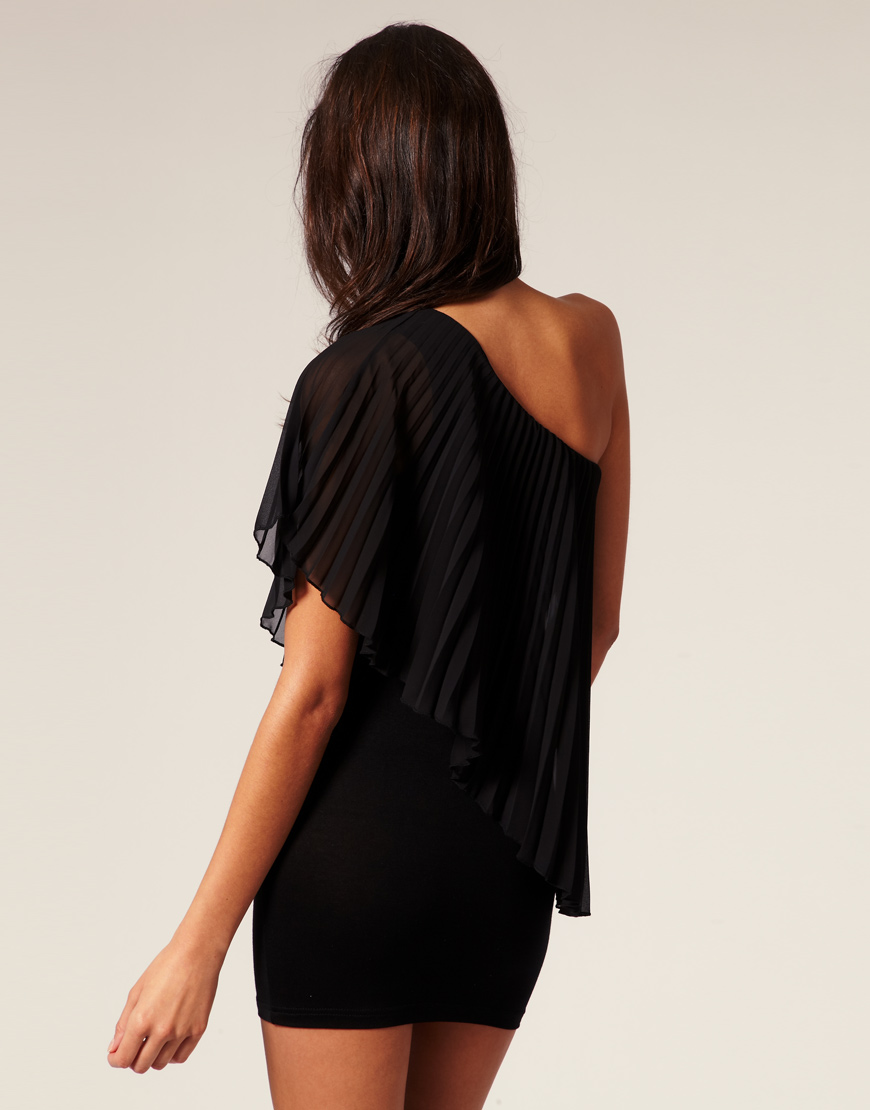 Asos Collection Asos Peplum Top In Sequin In Natural: Asos Collection Asos Petite Pleated One Shoulder