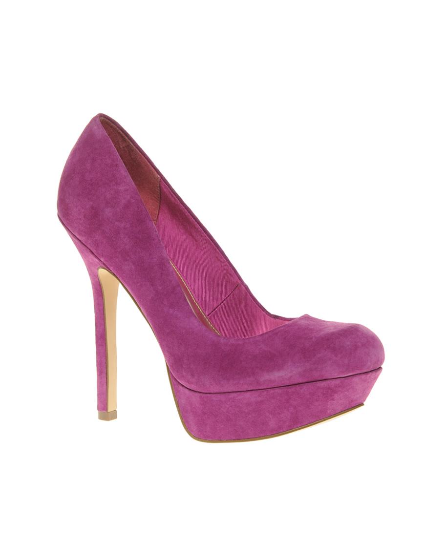 Pump Bpeep Toe Shoes Magenta