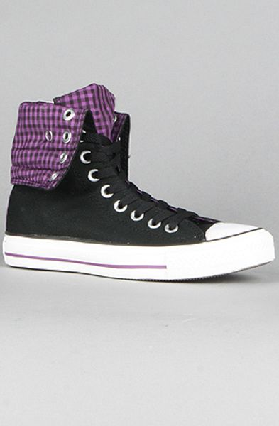 Converse The Shimmer Plaid Chuck Taylor All Star Knee Hi