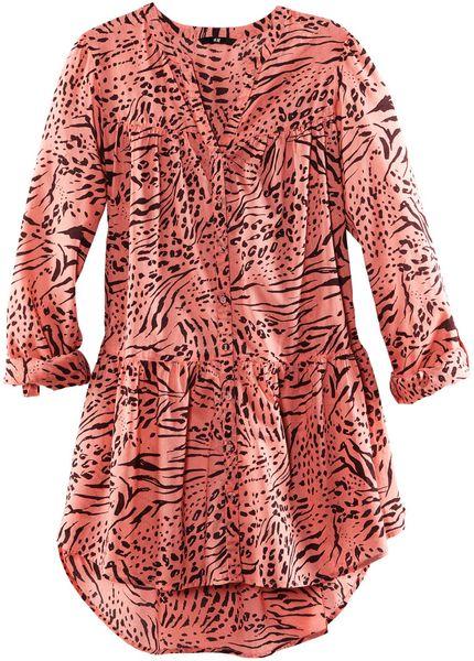 H&m Blouse in Pink (coral)