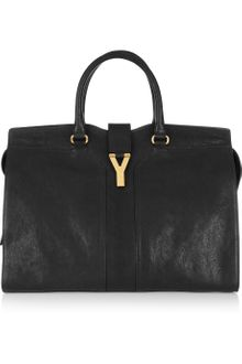 Yves Saint Laurent Cabas Chyc Leather Tote - Lyst