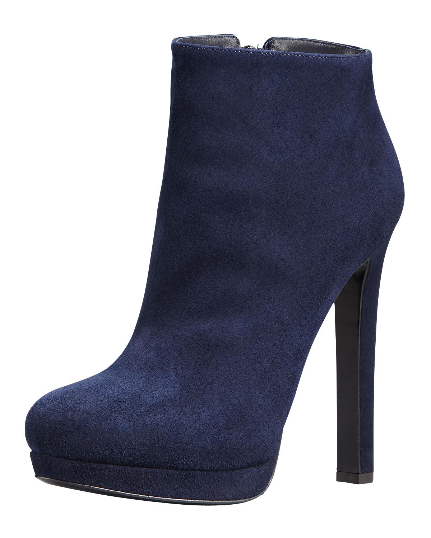 Alexander McQueen Suede Heel Boots FFhqHH0o