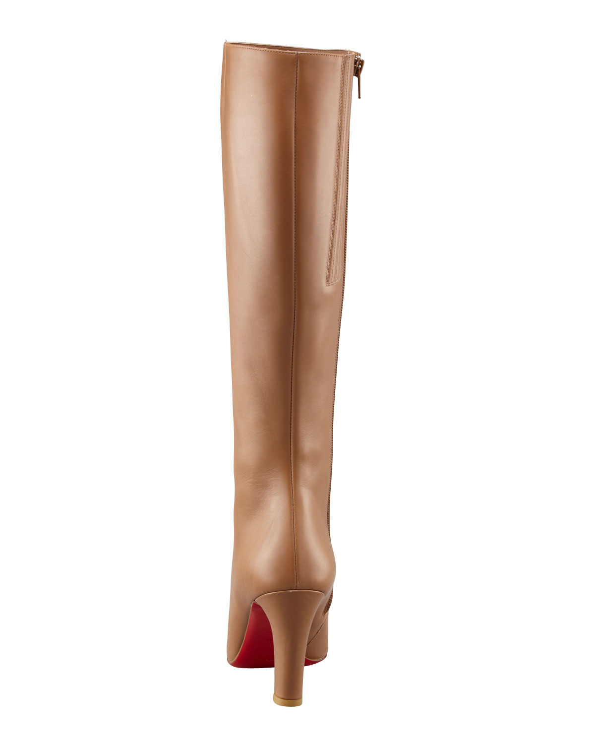 ab03de128031 Christian louboutin Miss Tack High-heel Knee Boot in Brown (camel .
