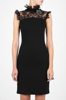 D&G Lace Shoulder Shift Dress - Lyst