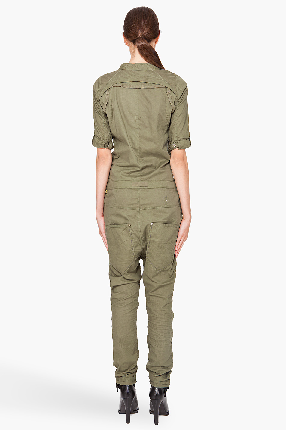 Lyst - G-Star RAW Laundry Officer Flight Suit in Green a5be5a5bb
